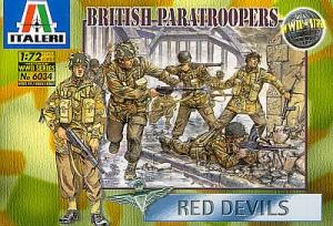 ITALERI 1/72 6034 WWII BRITISH PARATROOPS