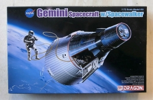 DRAGON 1/72 11013 GEMINI SPACECRAFT w/SPACEWALKER