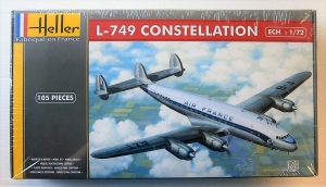 HELLER 1/72 80310 LOCKHEED L-749 CONSTELLATION AIR FRANCE