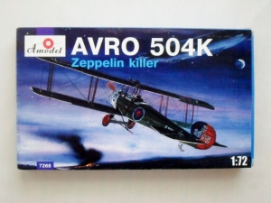 1/72 72068 AVRO 504K ZEPPELIN KILLER