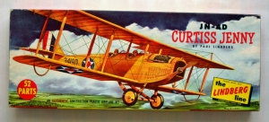 LINDBERG 1/48 534 98 JN-4D CURTISS JENNY