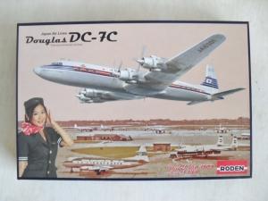 RODEN 1/144 303 DOUGLAS DC-7C JAL