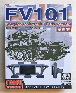 AFV CLUB 1/35 35290 FV101 SCORPION WORKABLE TRACK  EARLY