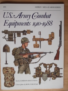 OSPREY  205. US ARMY COMBAT EQUIPMENTS 1910-1988