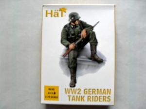 HAT INDUSTRIES 1/72 8262 WW2 GERMAN TANK RIDERS