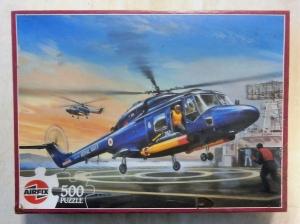 AIRFIX  J0502 WESTLAND LYNX HELICOPTER 500 PIECE JIGSAW