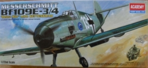 1/72 2214 MESSERSCHMITT Bf 109E-3/4 WITH KETTENKRAD