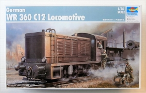 TRUMPETER 1/35 00216 GERMAN WR 360 C12 LOCOMOTIVE