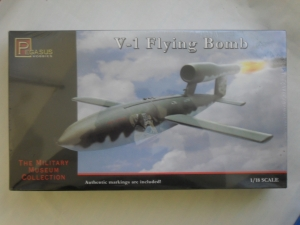 PEGASUS HOBBIES 1/18 8803 V-1 FLYING BOMB