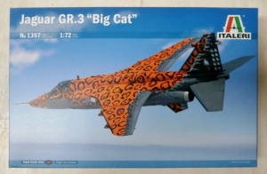 ITALERI 1/72 1357 JAGUAR GR.3 BIG CAT