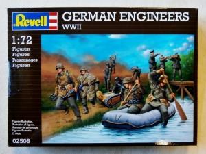 REVELL 1/72 02508 GERMAN ENGINEERS WWII