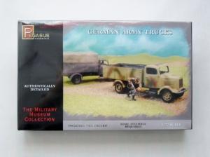 PEGASUS HOBBIES 1/72 7610 GERMAN ARMY TRUCKS