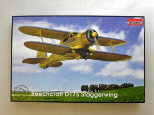 RODEN 1/48 446 BEECHCRAFT D17S STAGGERWING