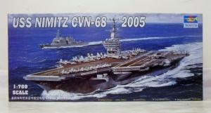 TRUMPETER 1/700 05739 USS NIMITZ CVN-68 2005