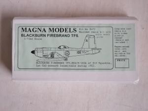 MAGNA 1/72 0472 BLACKBURN FIREBRAND TF5