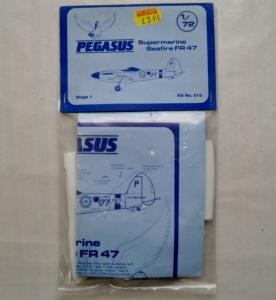 PEGASUS 1/72 015 SUPERMARINE SEAFIRE FR.47