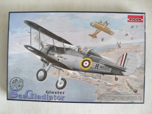 RODEN 1/48 405 GLOSTER SEA GLADIATOR Mk.I
