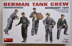 MINIART 1/35 35132 GERMAN TANK CREW NORMANDY 1944