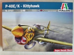 ITALERI 1/48 2717 P-40E/K KITTYHAWK