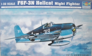 TRUMPETER 1/32 02258 F6F-3N HELLCAT NIGHT FIGHTER