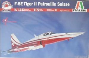ITALERI 1/72 1333 F-5E TIGER II PATROUILLE SUISSE