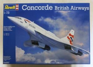 REVELL 1/72 04997 CONCORDE BRITISH AIRWAYS  UK SALE ONLY