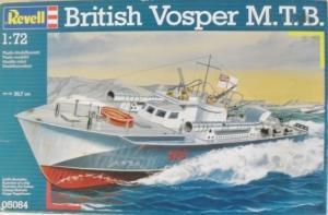 REVELL 1/72 05084 BRITISH VOSPER M.T.B.