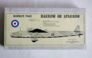 CONTRAIL 1/72 HANDLEY PAGE HARROW OR SPARROW