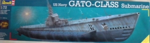 REVELL 1/72 05047 US GATO CLASS SUBMARINE  UK SALE ONLY