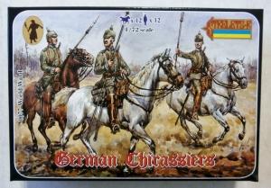 STRELETS 1/72 0077 GERMAN CHIRASSIERS