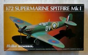 HELLER 1/72 80280 SUPERMARINE SPITFIRE Mk.I
