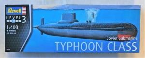 REVELL 1/400 05138 SOVIET SUBMARINE TYPHOON CLASS