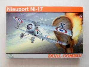EDUARD 1/72 7071 NIEUPORT Ni-17 DUAL COMBO