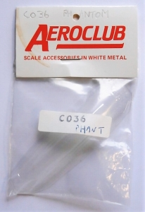 AEROCLUB 1/72 C036 F-4 PHANTOM CANOPY
