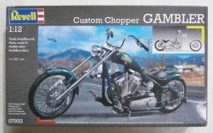 REVELL 1/12 07933 CUSTOM CHOPPER GAMBLER