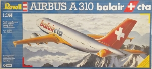 REVELL 1/144 04221 AIRBUS A310 BALAIR CTA