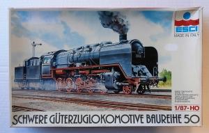 ESCI 1/87 H-1002 SCHWERE GUTERZUGLOKOMOTIVE BAUREIHE 50