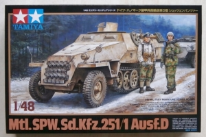 TAMIYA 1/48 32564 Sd.Kfz 251/1 Ausf.D