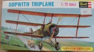 REVELL 1/72 H654SFB SOPWITH TRIPLANE