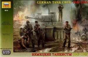 ZVEZDA 1/35 3614 GERMAN TANK CREW 1943-45