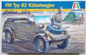 ITALERI 1/35 312 VW Kdf.1 TYP 82 KUBELWAGEN