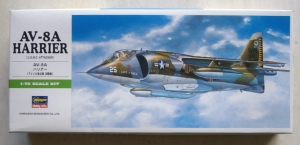HASEGAWA 1/72 B10 AV-8A HARRIER