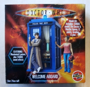 AIRFIX  50006 DOCTOR WHO WELCOME ABOARD TARDIS MARTHA