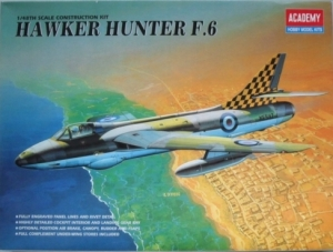 ACADEMY 1/48 2164 HAWKER HUNTER F.6