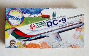HASEGAWA 1/200 LA1 McDONNELL DOUGLAS DC-9 TDA