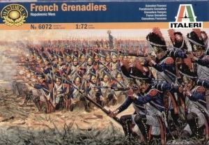 ITALERI 1/72 6072 NAPOLEONIC FRENCH GRENADIERS