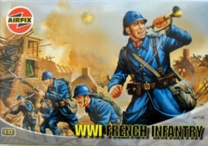 AIRFIX 1/72 01728 WWI FRENCH INFANTRY