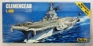 HELLER 1/400 81010 CLEMENCEAU  UK SALE ONLY