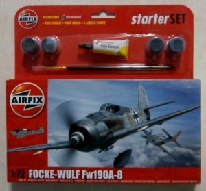 AIRFIX 1/72 55110 FOCKE-WULF Fw 190A-8 STARTER SET