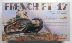 MENG 1/35 TS-011 FRENCH FT-17